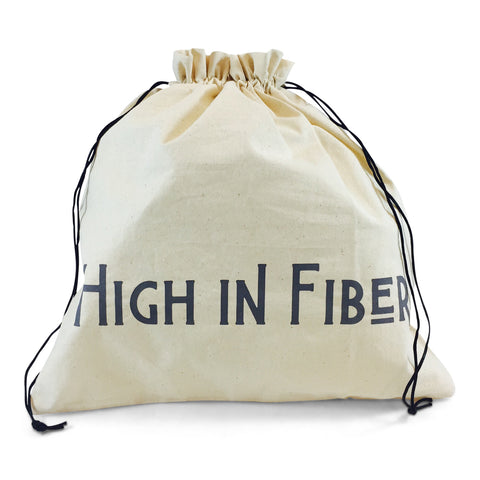 "Edict Project Bag-Large ""High in Fiber, Low in Calories"""