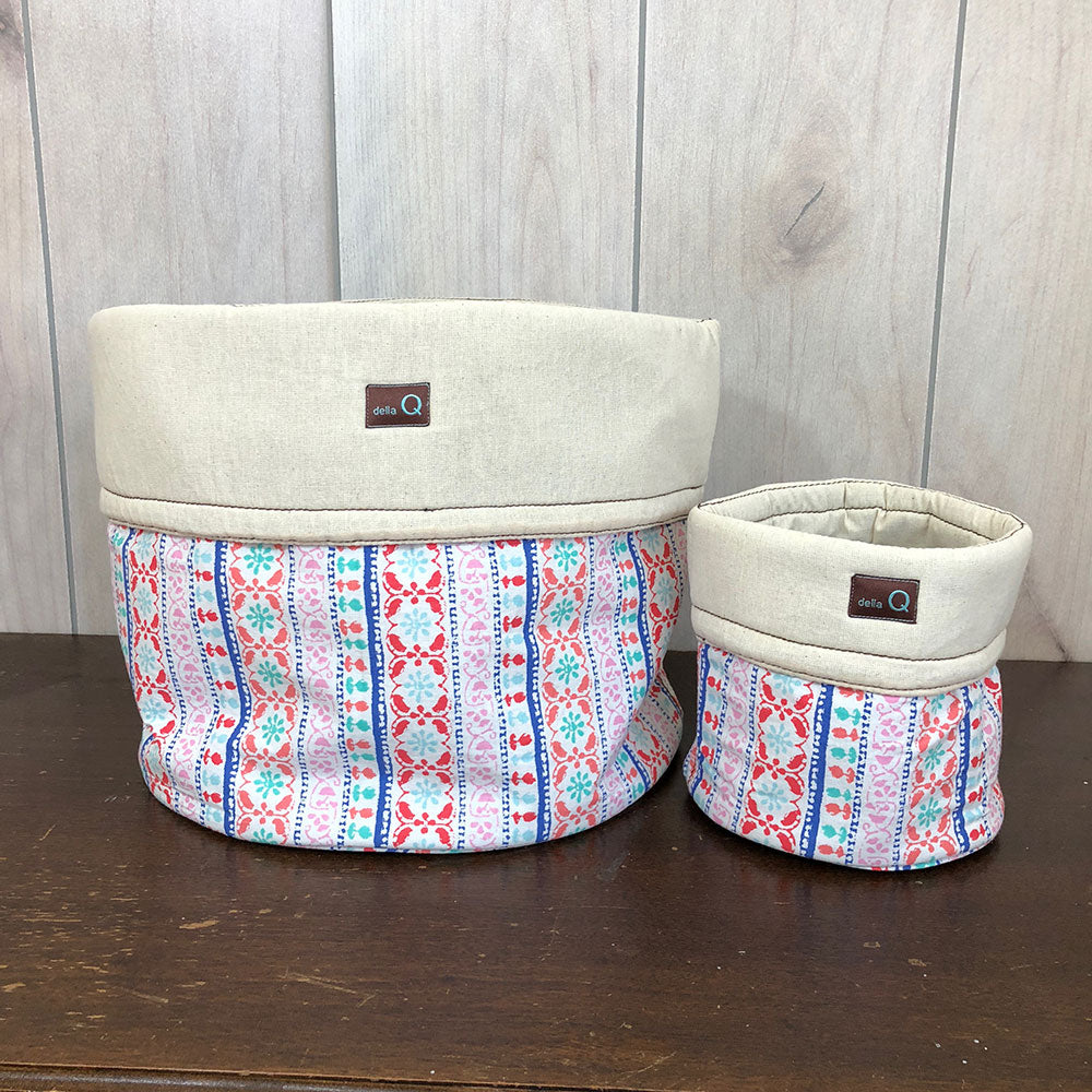Salina Fabric Yarn Bowl - Large - Menlo