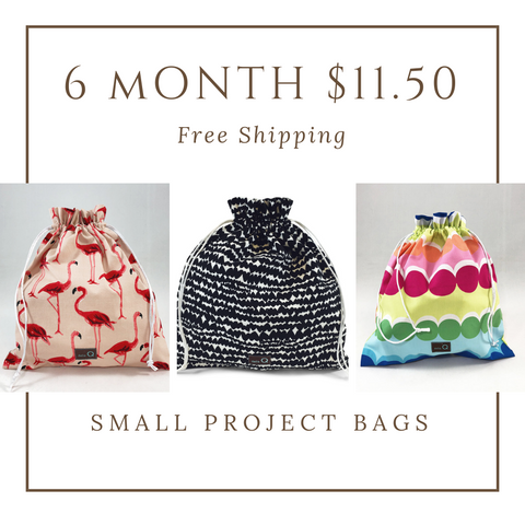 6 Month Project Bag Subscription - Small