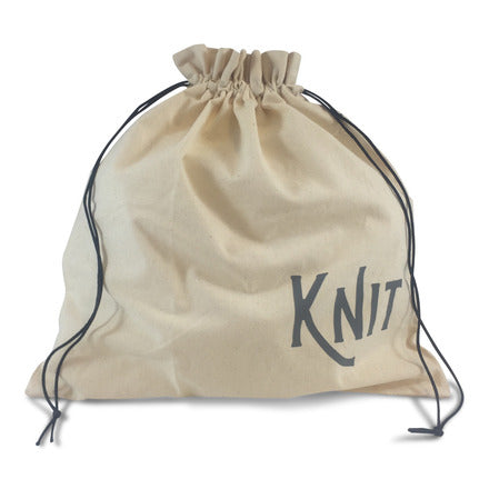 "Edict Project Bag-Large ""Knit with Love"""