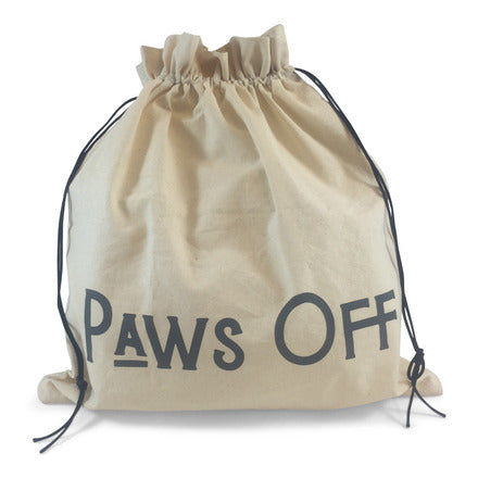 "Edict Project Bag-Large ""Paws Off My Knitting"""