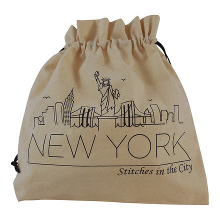 Stitches in the City Collectable Project Bags - ONLY AVAILABLE AT YOUR LOCAL YARN STORE