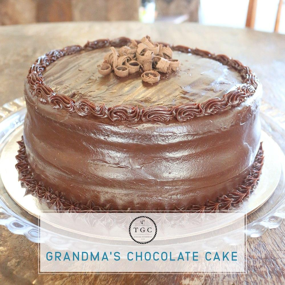 Grandma's Chocolate Cake (Whole)