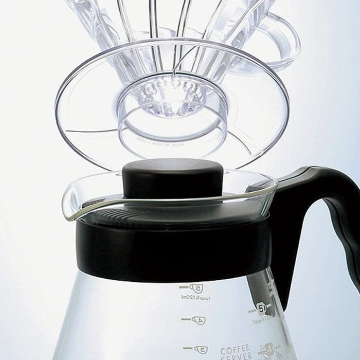 Hario V60 Glass Coffee Server 02, 700ml