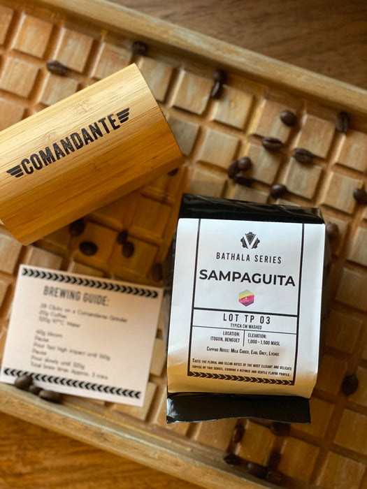 Sampaguita (Lot TP 03), Roasted Coffee Beans - 200g