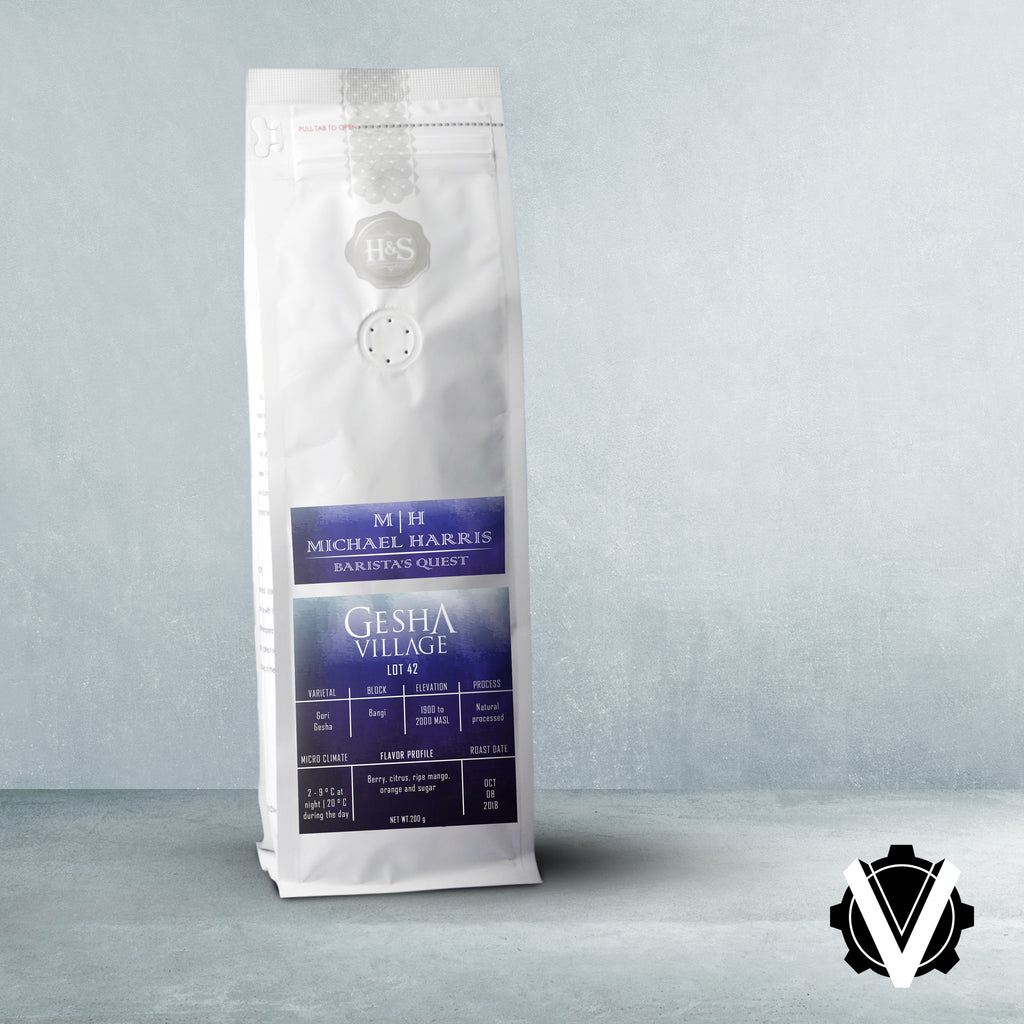 Baristas Quest Gesha Village Lot 42 - 200g per bag