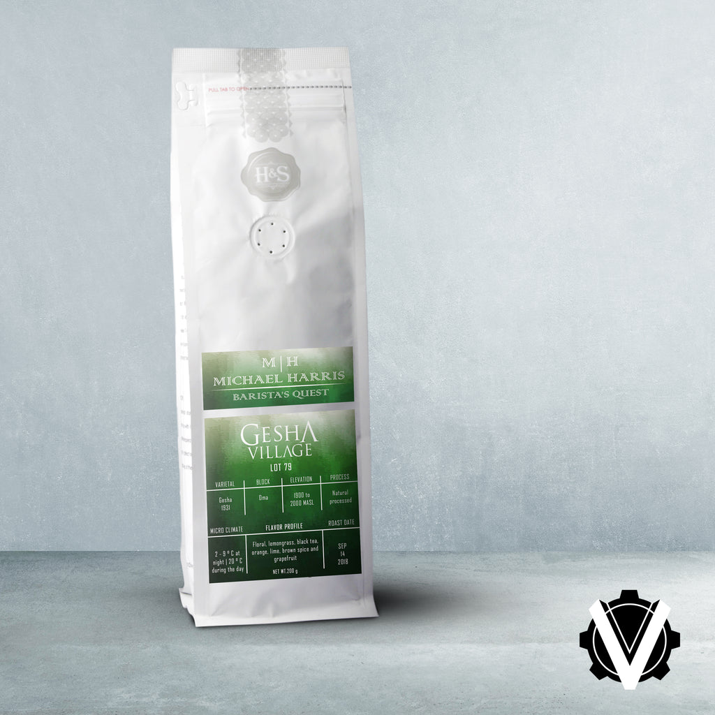 Baristas Quest Gesha Village Lot 79 - 200g per bag