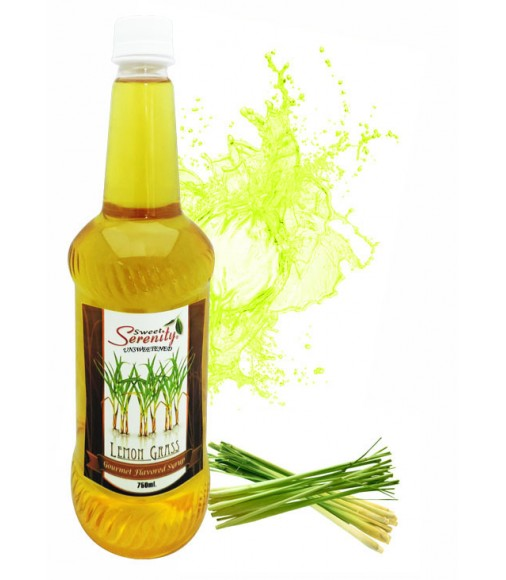 Lemon Grass Unsweetened Flavored Syrup