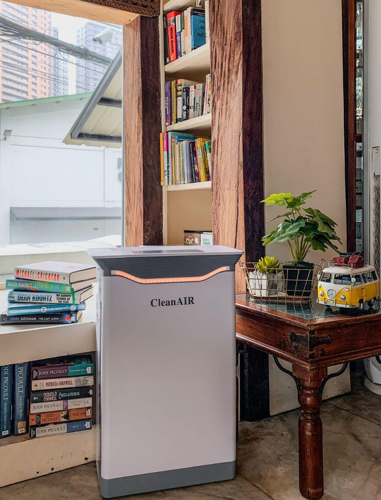 Clean AIR  UV Air Purifier - 99.97% Efficiency Rate and True Hepa Filter