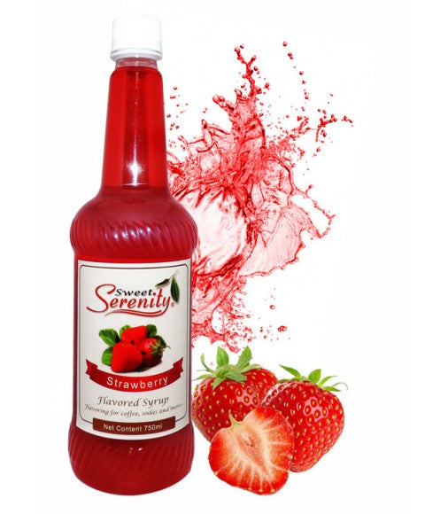 Strawberry Flavored Syrup