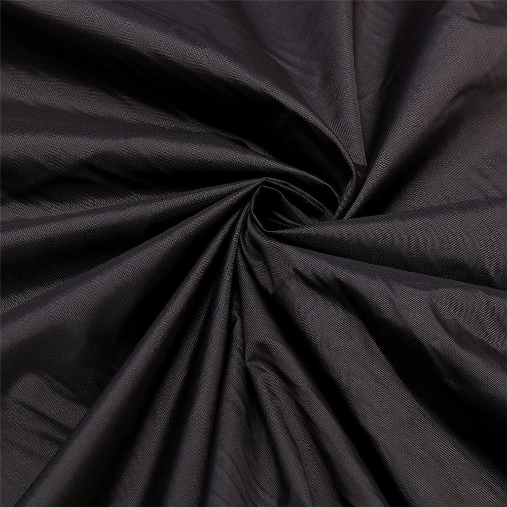 81x44x47.5 Inch Black Polyester Fabric Waterproof Zero Turn Lawnmower Cover