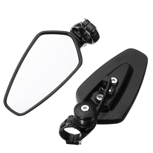 Universal Motorcycle Aluminum Rear View Mirrors