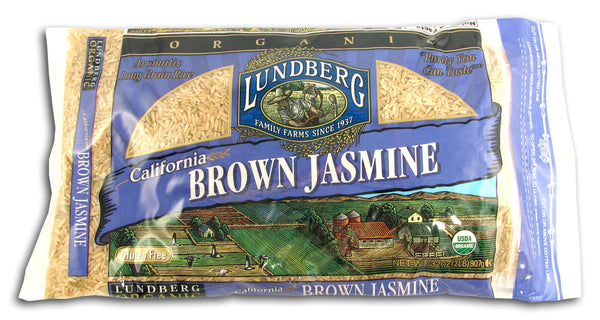 Jasmine Brown Rice, Organic