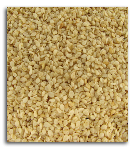 Sesame Seeds, White, Hulled