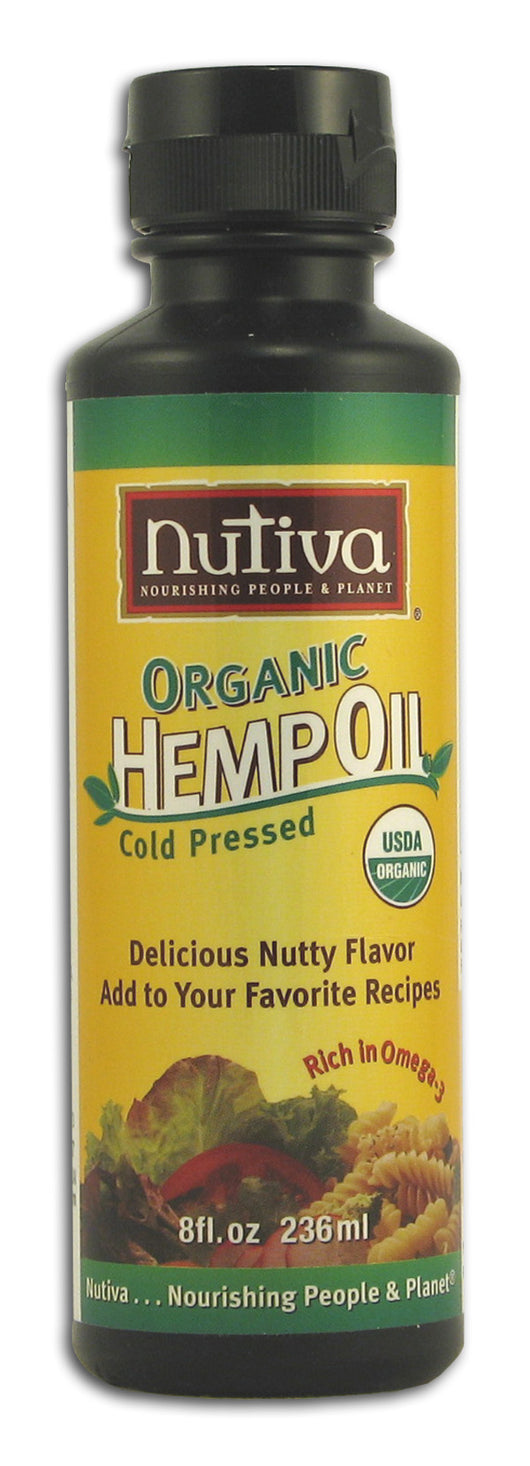 Hemp Oil, Cold Pressed, Organic