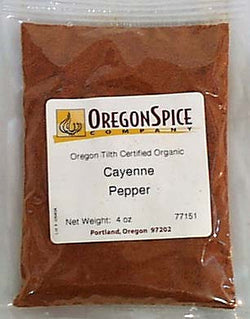 Cayenne, Ground, Organic