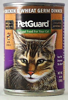 PetGuard Chicken & Wheat Germ Dinner