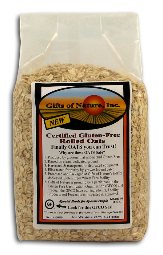 Certified Gluten Free Rolled Oats