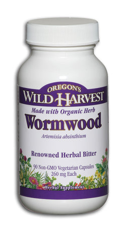 Wormwood 260 mg, Organic