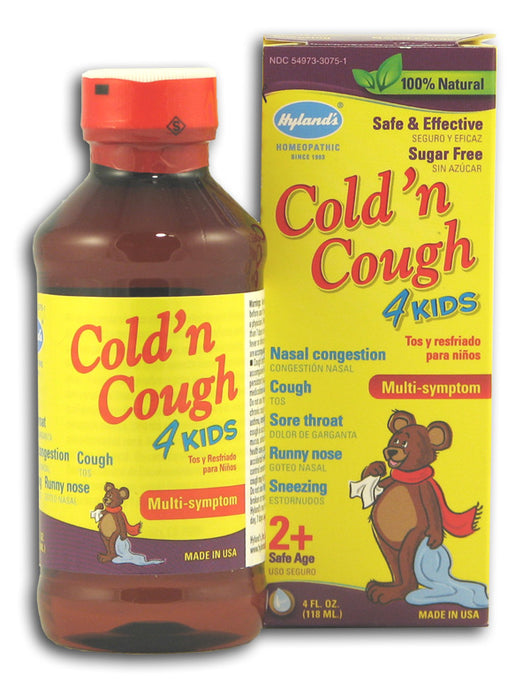 Cough 'n Cold 4 Kids