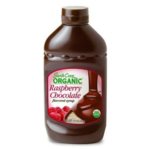 Raspberry Chocolate Syrup, Organic