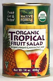 Tropical Fruit Salad, Organic