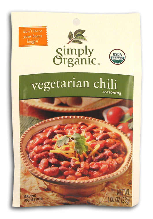 Vegetarian Chili Seasoning, Organic