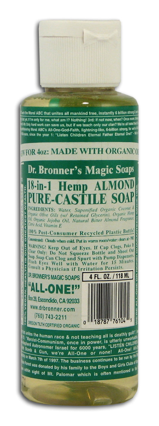 Almond Castile Liquid Soap
