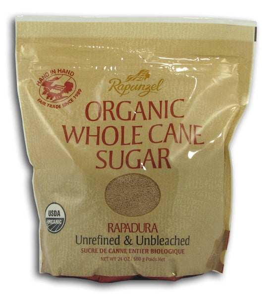 Whole Cane Sugar, Organic