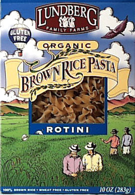 Brown Rice Rotini Pasta, Organic
