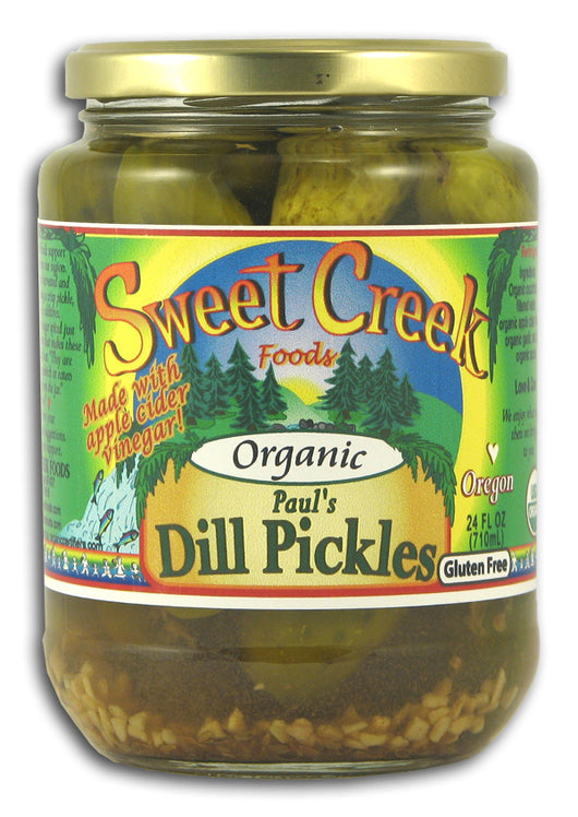 Paul's Dill Pickles, Organic