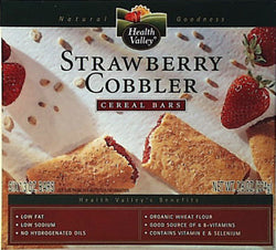 Strawberry Cobbler Cereal Bars