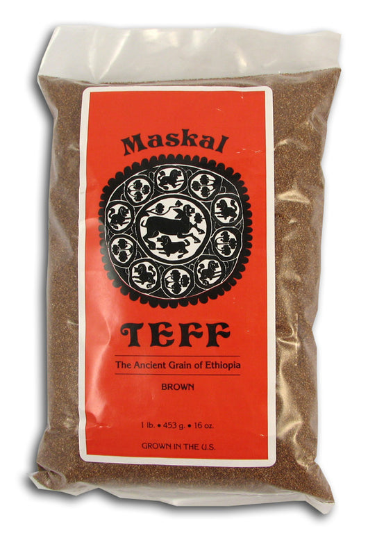 Teff Grain, Maskal, Brown