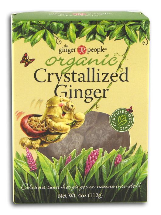 Crystallized Ginger, Organic