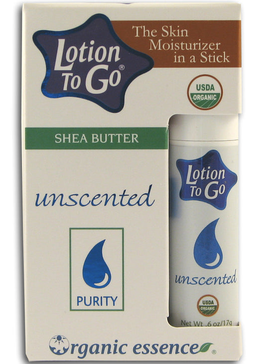 Lotion to Go, Shea Butter, Unscented