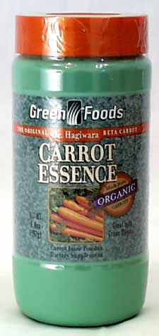 Green Magma, Carrot Essence Powder
