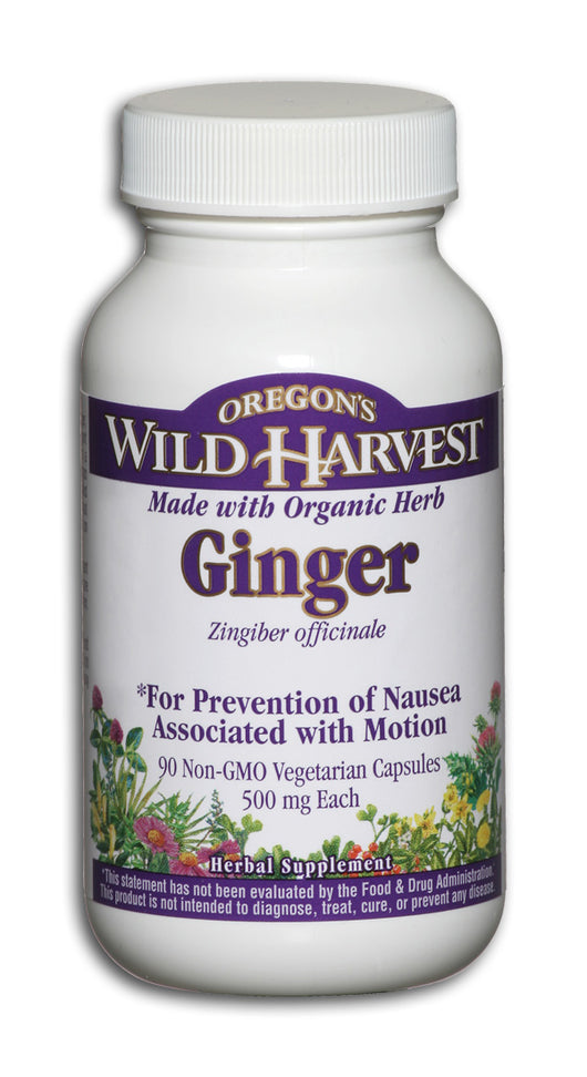 Ginger Root 500mg, Organic