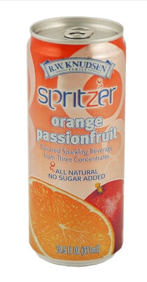 Orange Passionfruit Spritzer