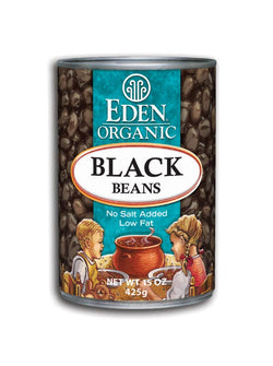 Black Beans, Organic, Canned