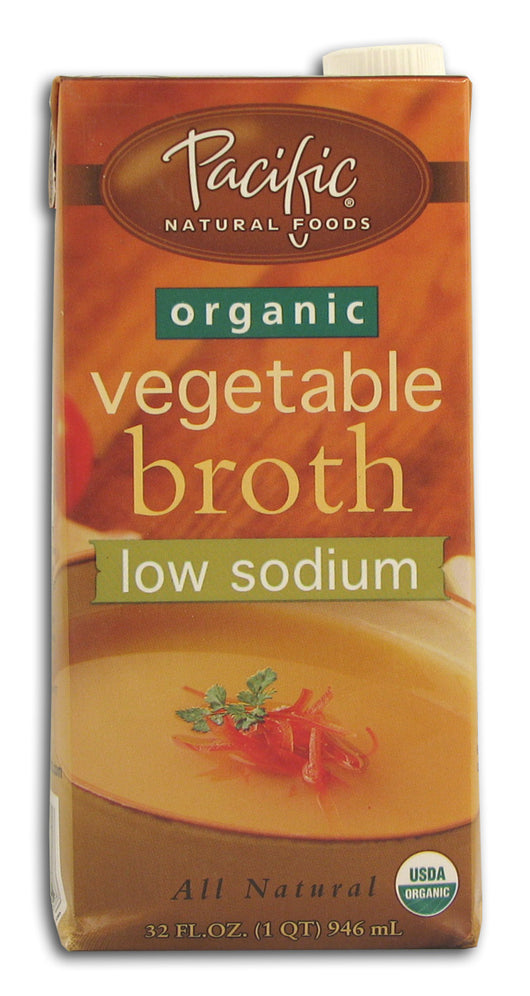 Vegetable Broth, Low Sodium, Organic