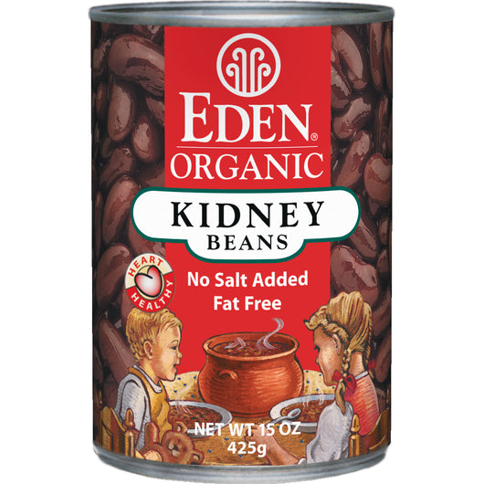 Kidney (dark red) Beans, Organic