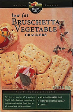 Wheat Brushetta Veg Crackers, Org