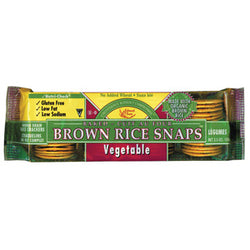 Brown Rice Snaps, Vegetable
