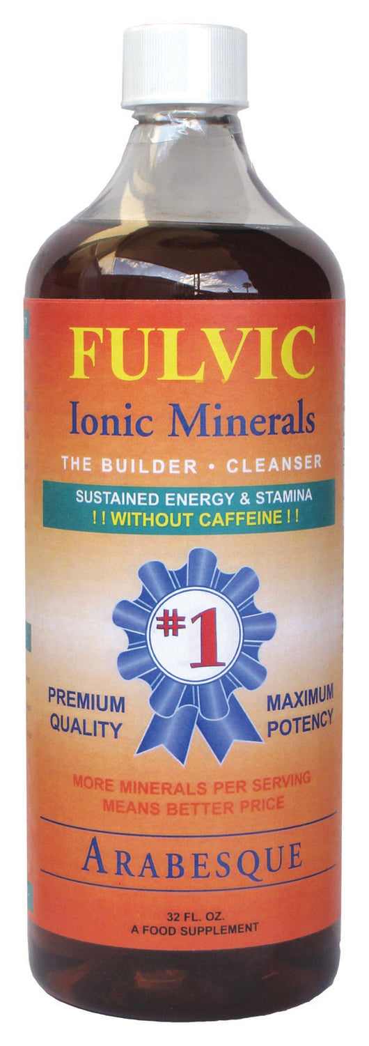 Fulvic Ionic Minerals (Builder & Cle