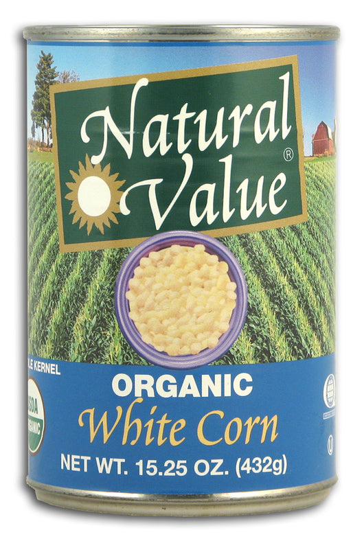 White Corn, Whole Kernel, Organic