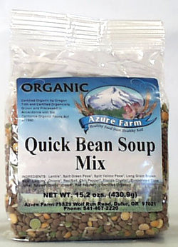 Azure Farm Quick Bean Soup Mix, Org