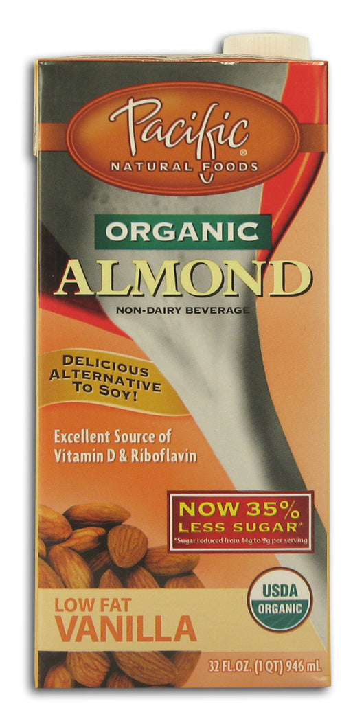 Almond Beverage, Low Fat Vanilla