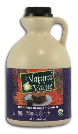 NV Maple Syrup, Grade B, Organic