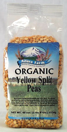 Azure Farm Yellow Split Peas, Org