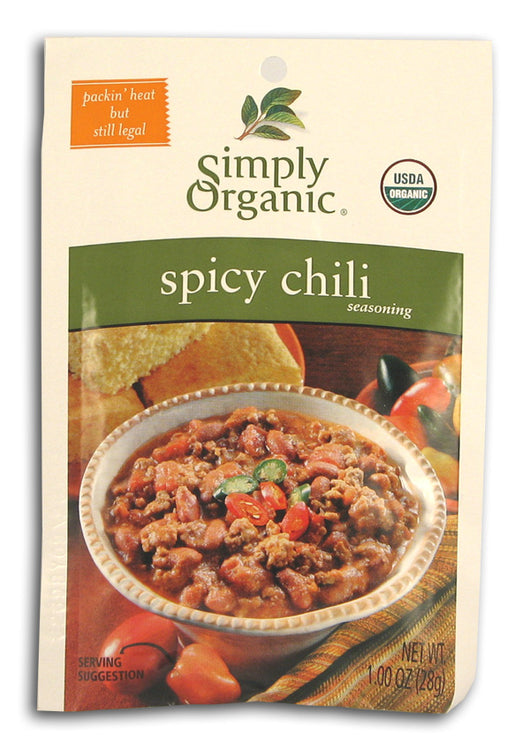 Spicy Chili Seasoning, Organic